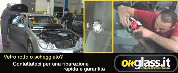 sostituzione rapida parabrezza e cristalli auto