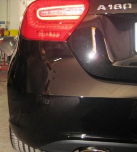 montaggio sensori parcheggio